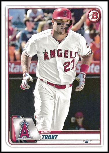 1 Mike Trout