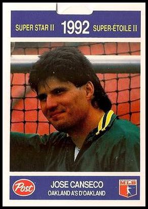 16 Jose Canseco