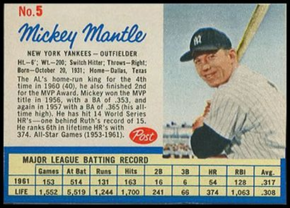 005A Mickey Mantle