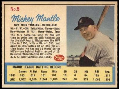 005B Mickey Mantle
