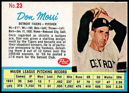 23 Don Mossi