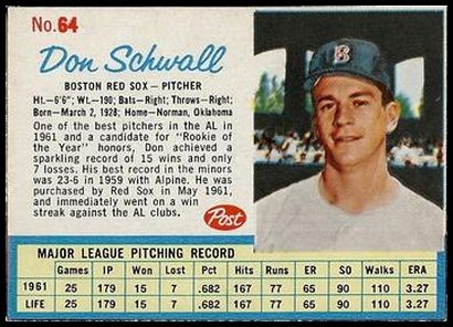 64 Don Schwall