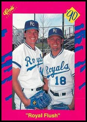 T50 Royal Flush - Bret Saberhagen Mark Davis