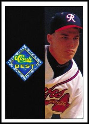 29 Chipper Jones Ad Card