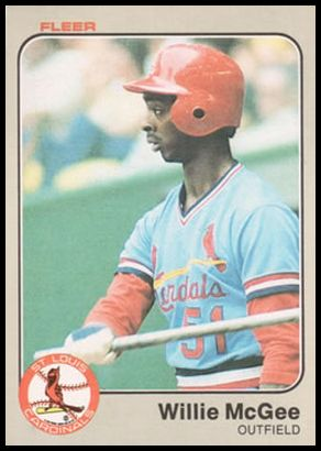 15 Willie McGee