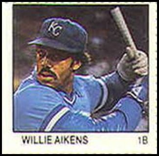 1 Willie Aikens