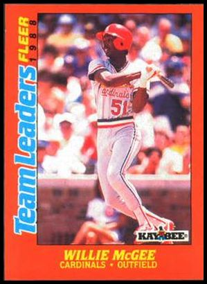 20 Willie McGee