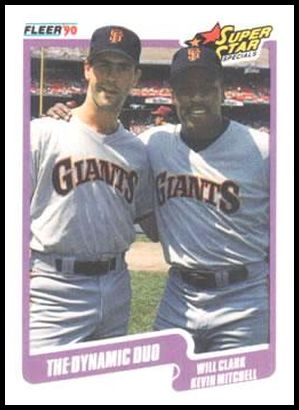 637 The Dynamic Duo (Will Clark Kevin Mitchell)