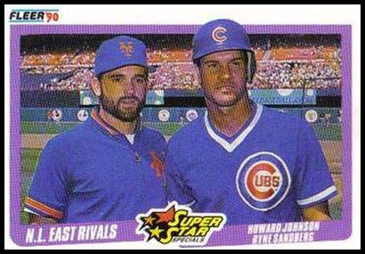 639 NL East Rivals (Howard Johnson Ryne Sandberg)
