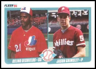 653 Delino DeShields and Jason Grimsley