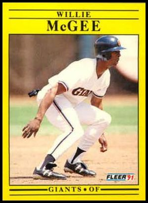 U-130 Willie McGee