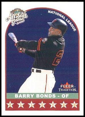 U341 Barry Bonds