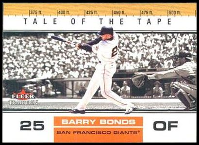 U386 Barry Bonds