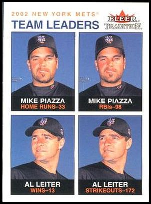 19 Mike Piazza Al Leiter TL