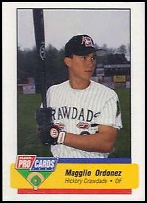 1994 Fleer ProCards South Atlantic League All Stars SAL25 Magglio Ordonez