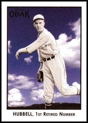 6 Carl Hubbell