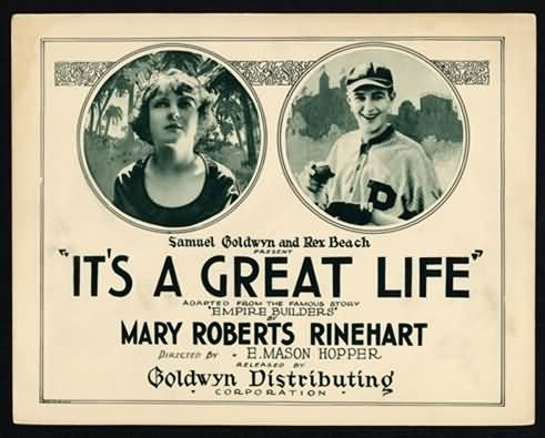 1920 It's a Great Life Movie