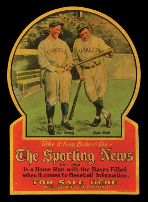 1928 Sporting News Ruth Gehrig