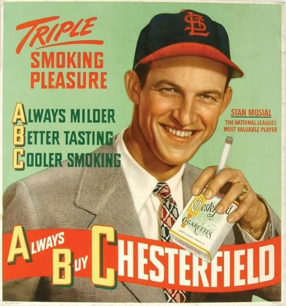 1949 Chesterfield Musial