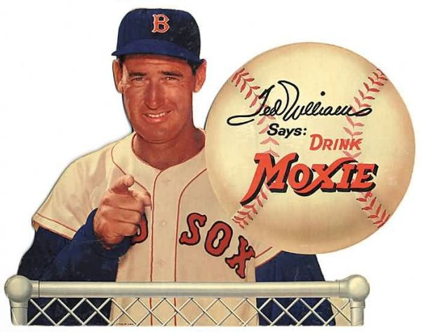 1950 Moxie Ted Williams
