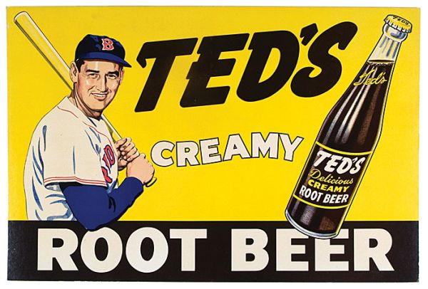 1950s Ted Williams Creamy Root Bear