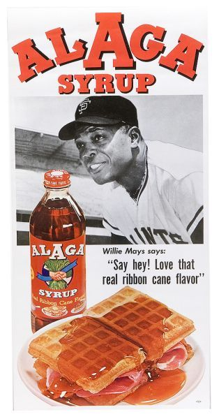 Alaga Syrup Willie Mays 2