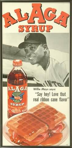 Alaga Syrup Willie Mays