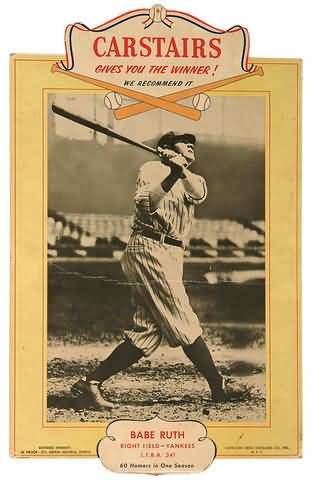 Carstairs Babe Ruth