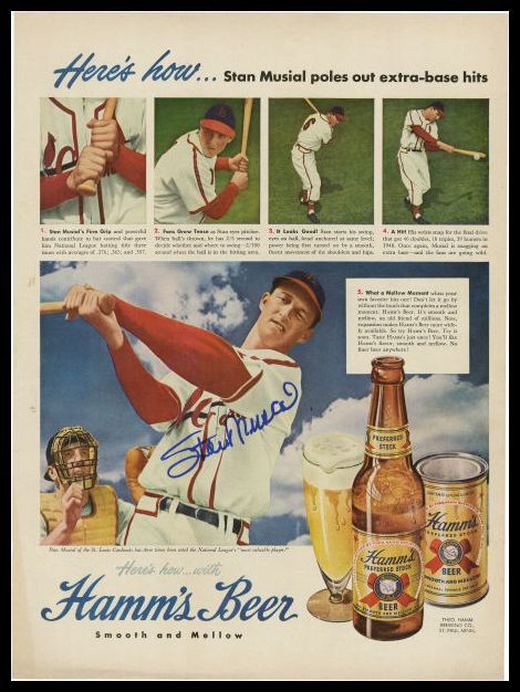 Hamm's Beer Musial