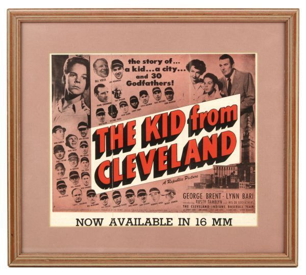 Movie The Kid From Cleveland Bill Veeck Lou Boudreau