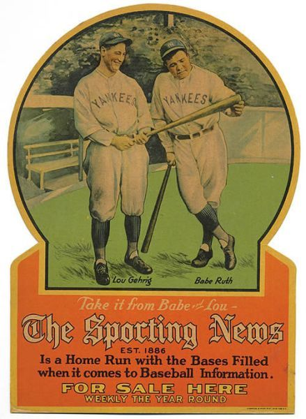 Sporting News Ruth Gehrig