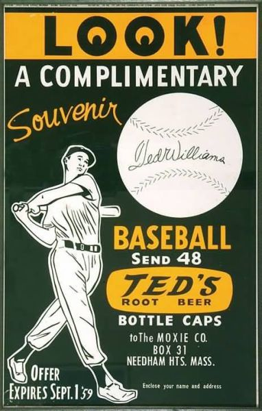 Ted's Root Beer Ted Williams
