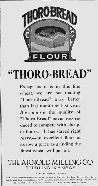 Thoro Bread Arnold Milling Co