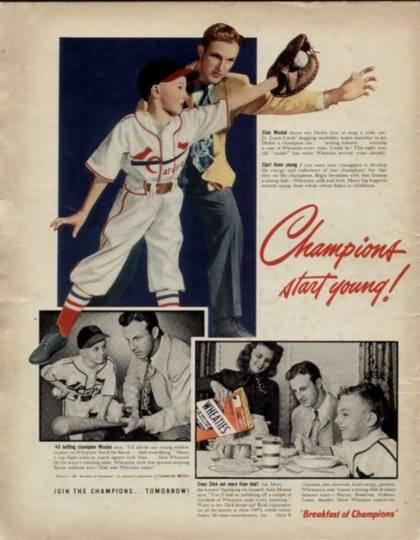 Wheaties 1949 Musial