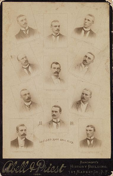 1889 Abell and Priest Oakland Base Ball Club