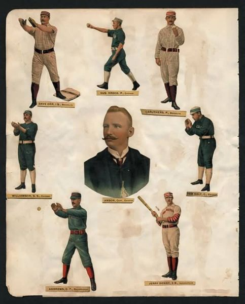 1888 Old Judge Die Cuts 1