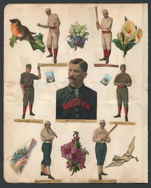 1888 Old Judge Die Cuts 2