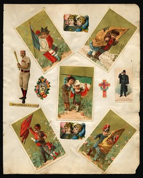 1888 Old Judge Die Cuts 4