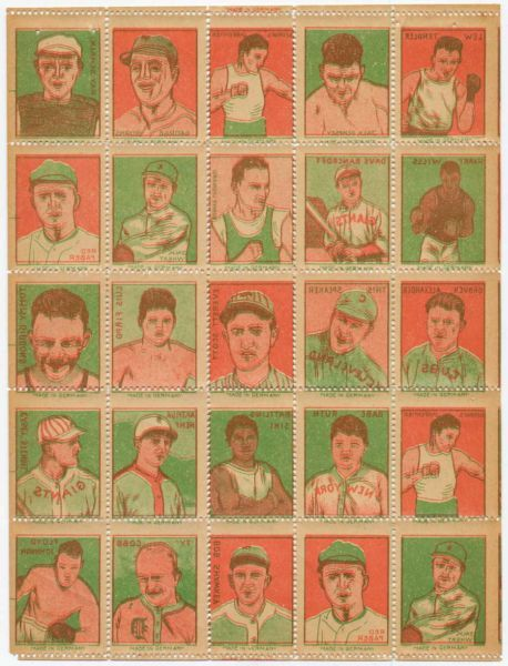 1923 German Sports Stamps