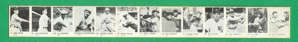 1950 R423 Strip Cards