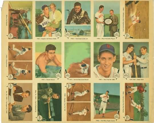 1959 Fleer Ted Williams