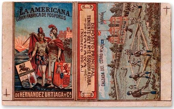 1865 First Baseball Cigar Label