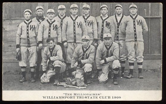 1908 Bey Engraving Williamsport Team