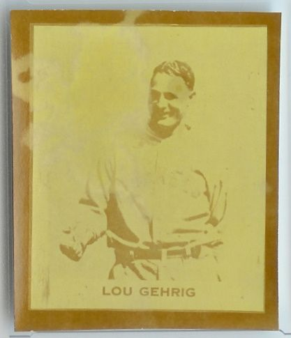1929-30 MP & Co Gehrig