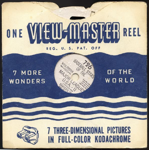 1953 Viewmaster Reel Holder