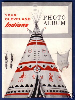 1957 Sohio Gas Indians Album