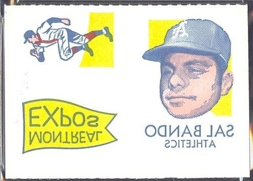 1971 Topps Tattoos Panel Bando