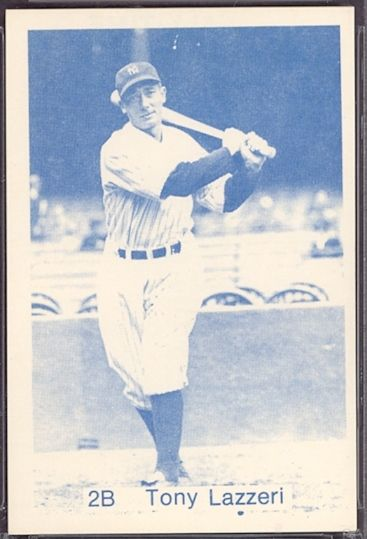 1975 TCMA All Time NY Yankees Lazzeri