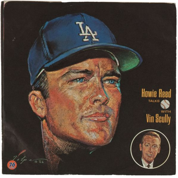 6676U 1966 76 Union Dodgers Reed