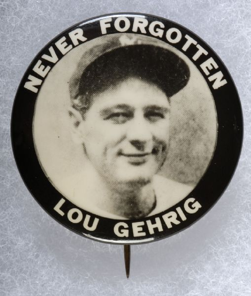 Gehrig Never Forgotten
